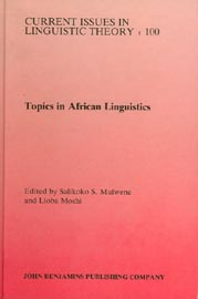 Topics in African Linguistics